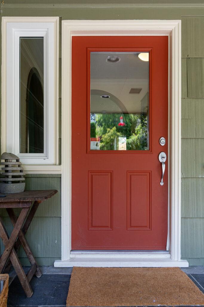 Front Door @ 9741 Glenelg Ave. No Saanich
