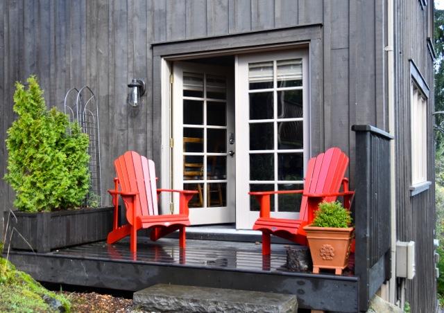 West Shawnigan Lake French Doors