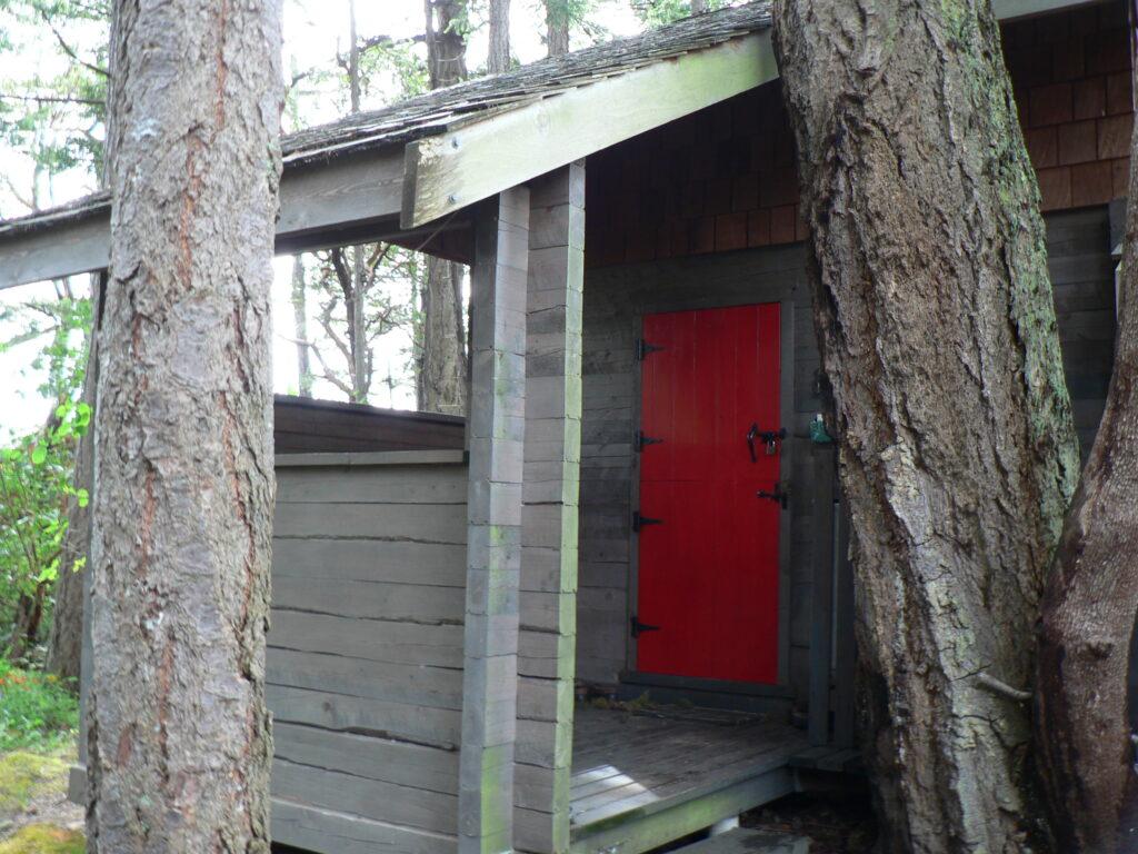 Cottage Door in the Trees~Secret Island