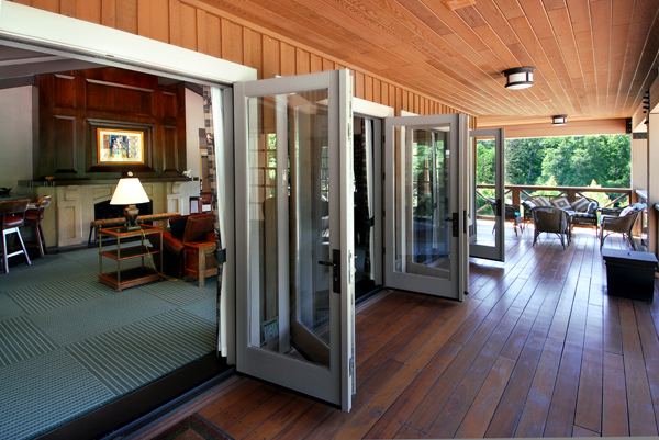 French Doors Deep Cove Estate