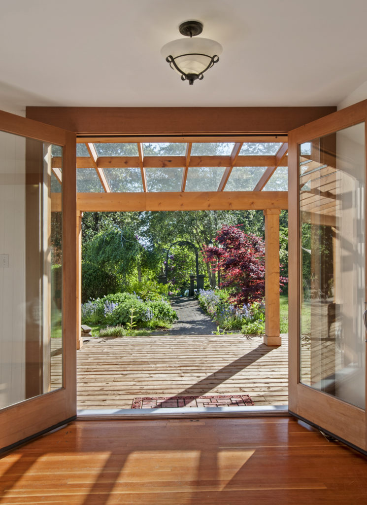 French Doors Entrance 536 Mt Newton Valley