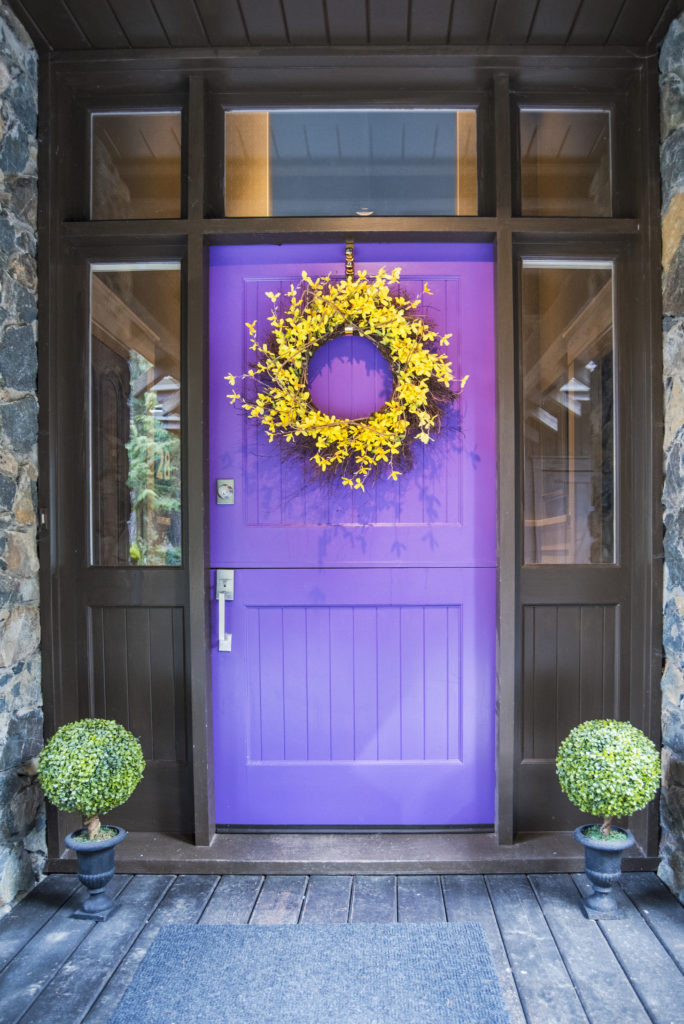 Front Door 1874 W Shawnigan Lake Rd