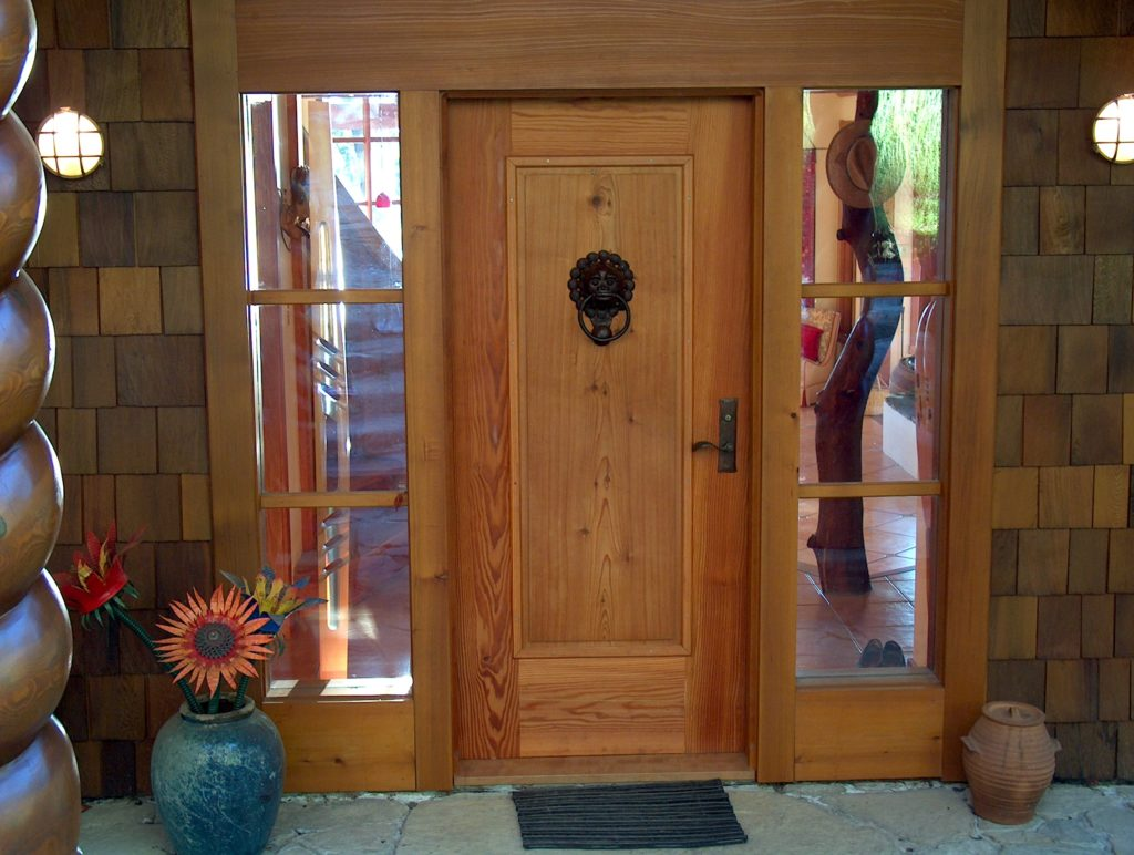 Gulf Island Estate Front Door