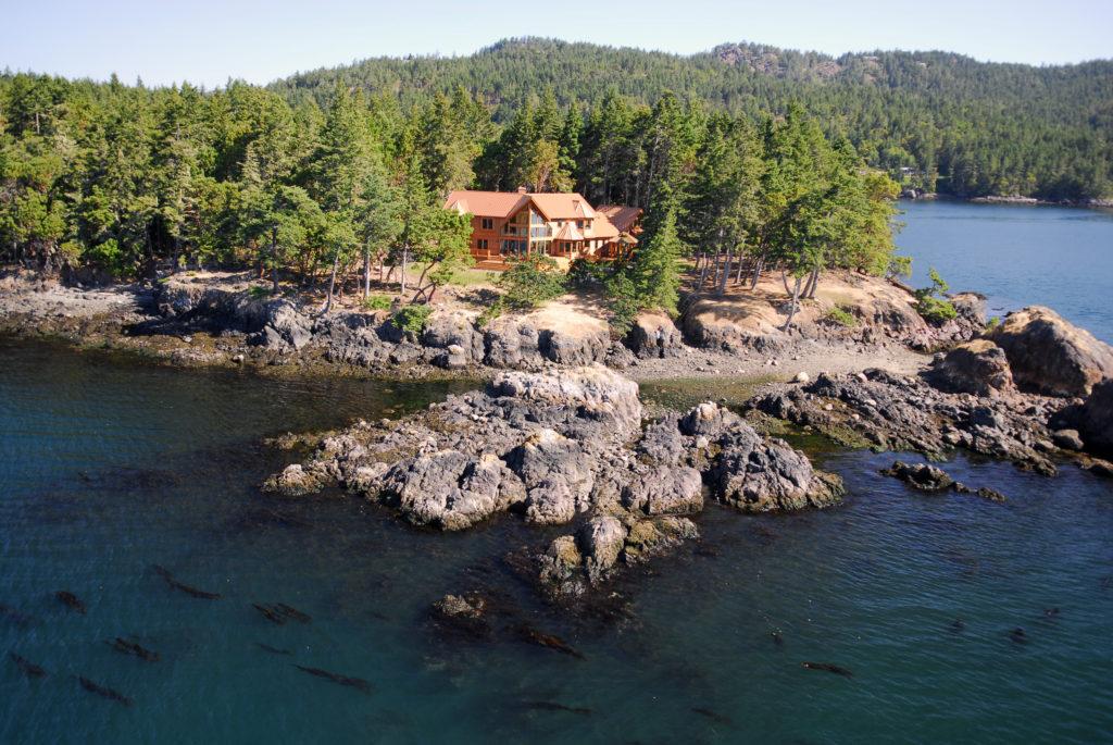 Windows Wolf Island WestCoast Home