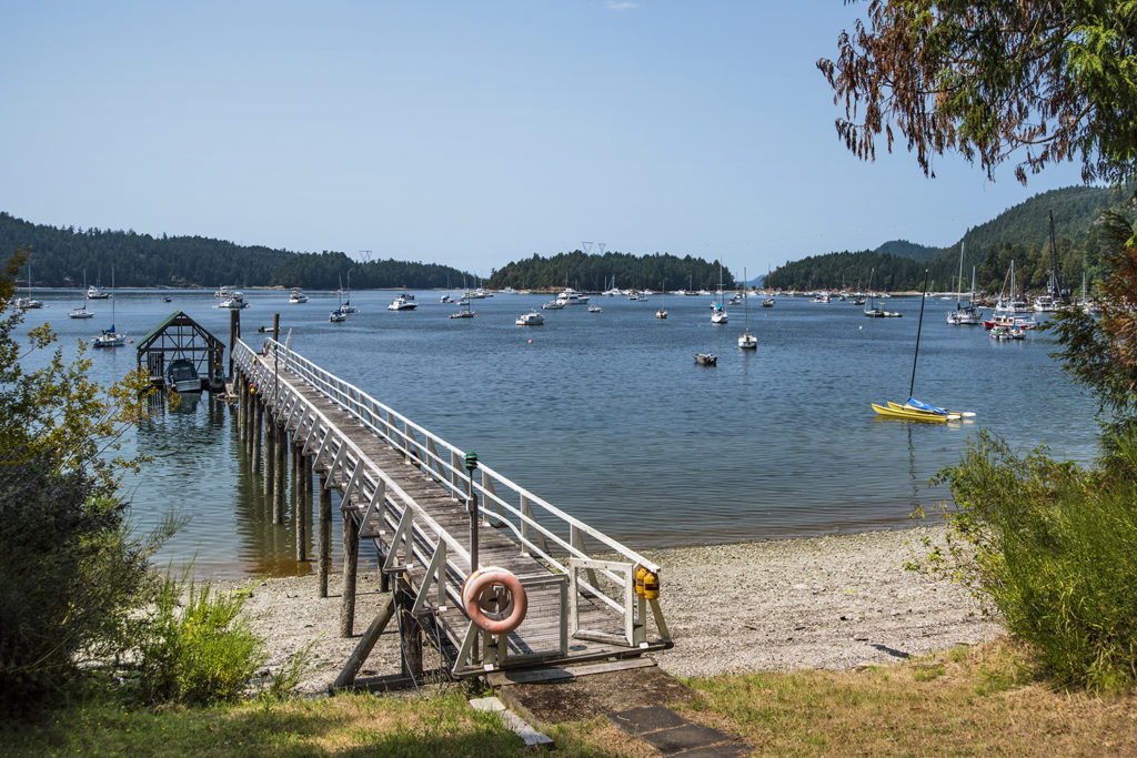 Dock & Boat Shed @ 232 Southwind Rd. Galiano Island