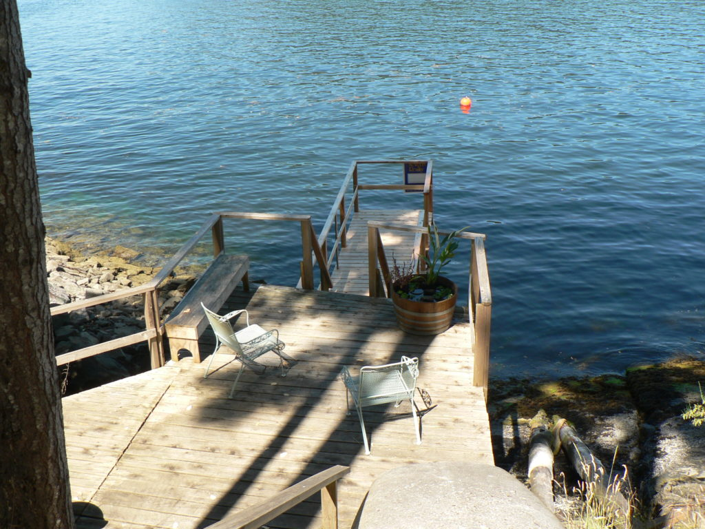 Deck & Jetty Sansum Narrows