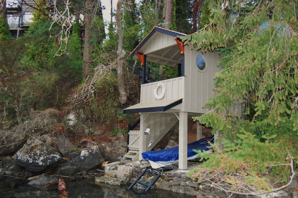 Setchell Rd. Deep Cove Boat house for Small Craft