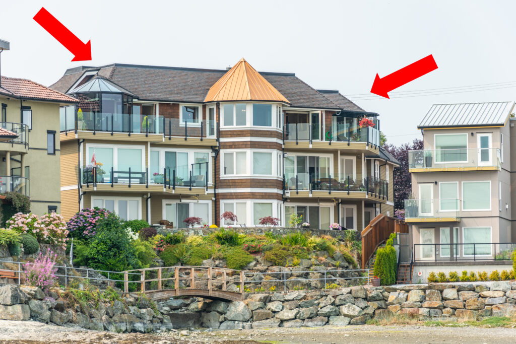 Top Floor Deck East Views, Sidney~PeterNash.ca