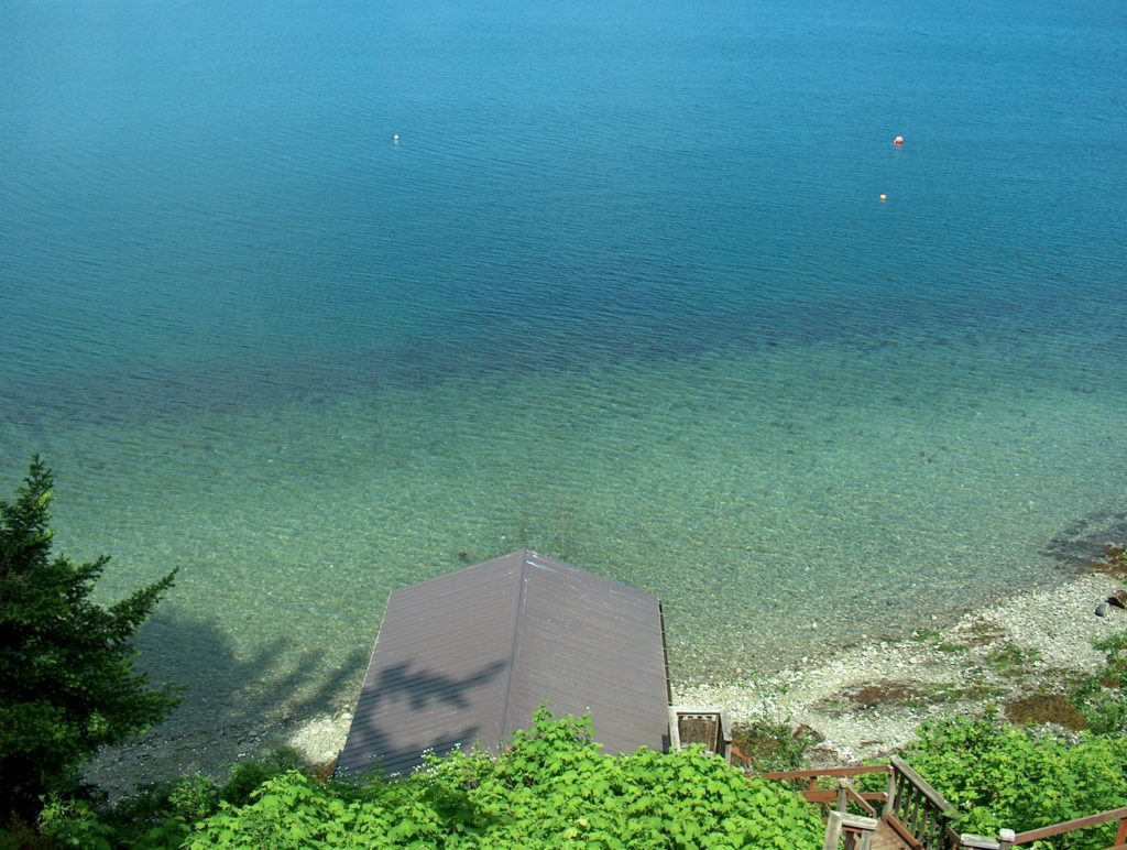 Oceanfront & Beach Saanich Inlet