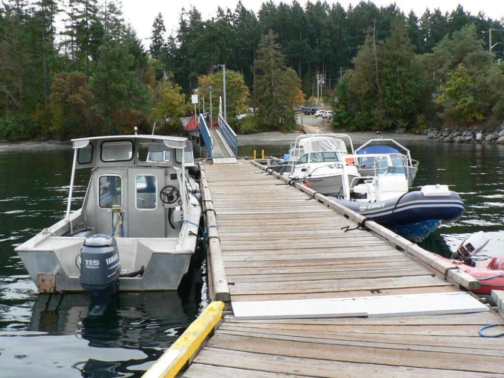 CRD Dock~Swartz Bay, No Saanich