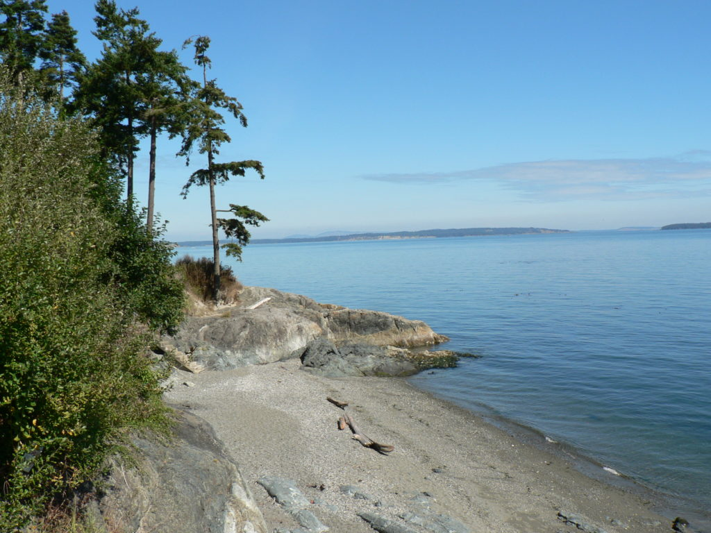 Cordova Bay Sandy Beach Cold Water