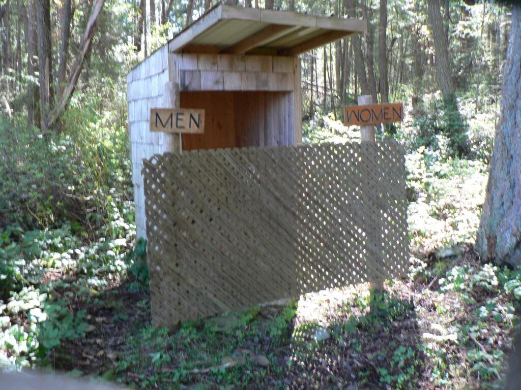 Gulf Island Outhouse
