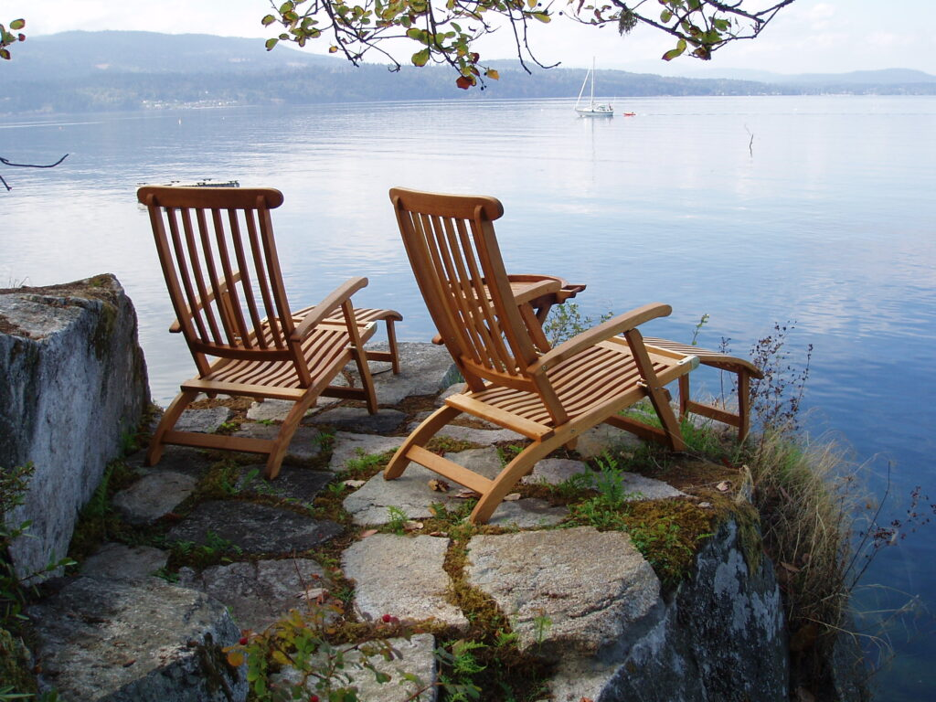 You Could Be Sitting Here-North Saanich, BC. PeterNash.ca