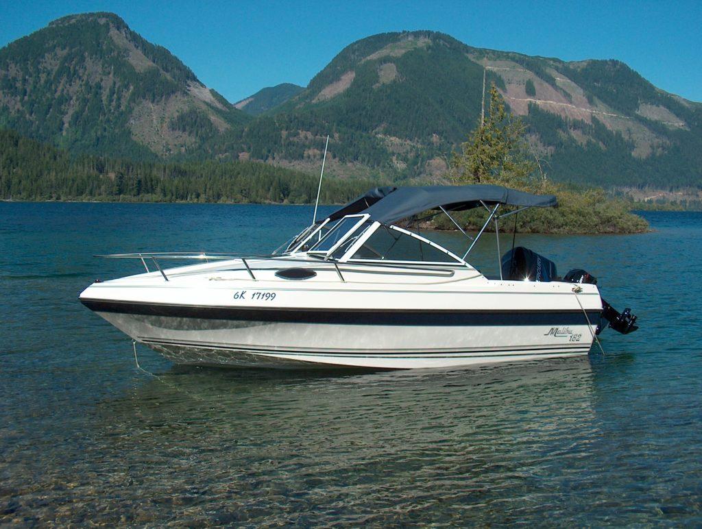 Malibu Stacey On Cowchan Lake, Vancouer Island