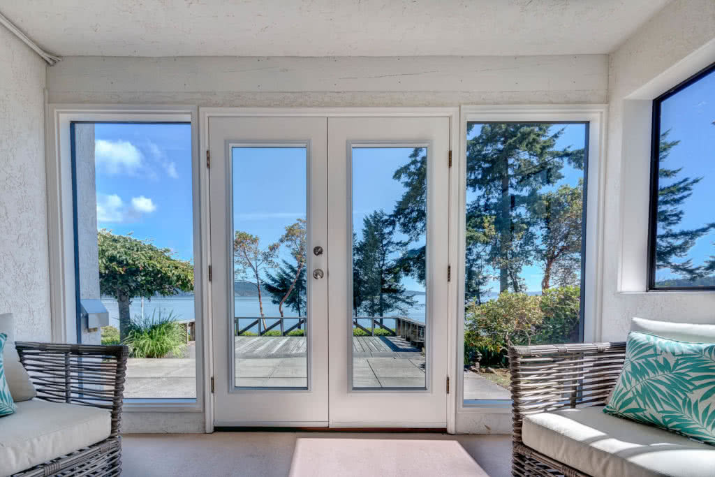 French Doors 1450 Lands End Rd Waterfront