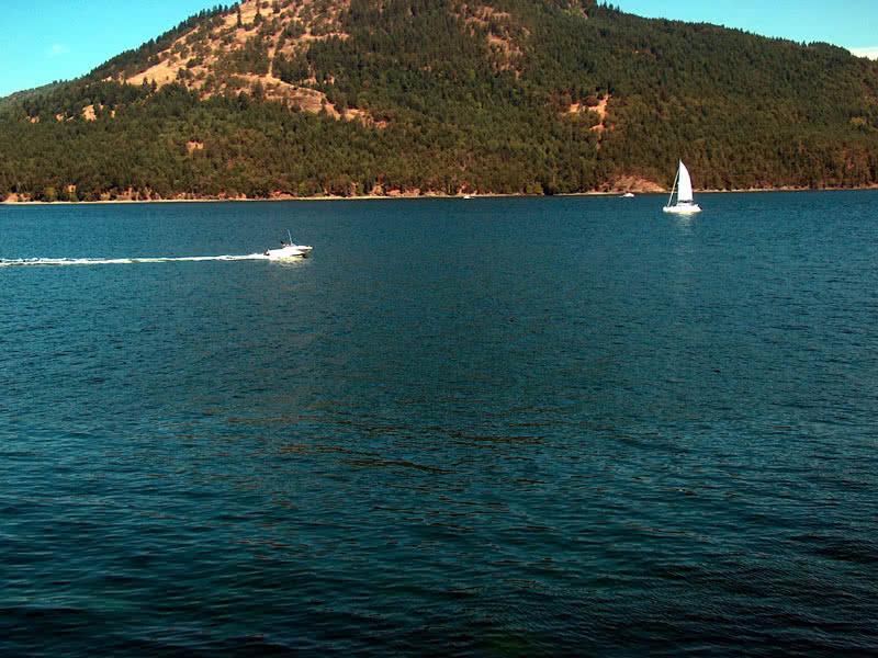 Satellite Channel Boats Salt Spring Island