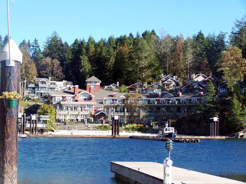 Poets Cove Resort & Marina. South Pender Island