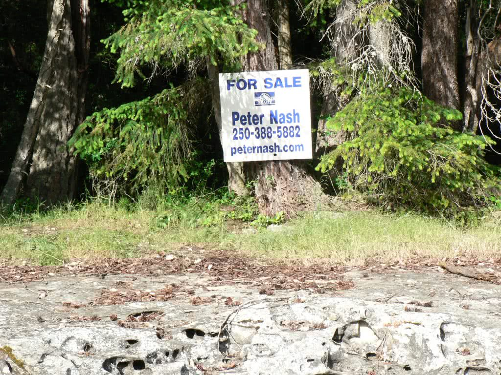 5 Acre Waterfront Lot On Thetis Island