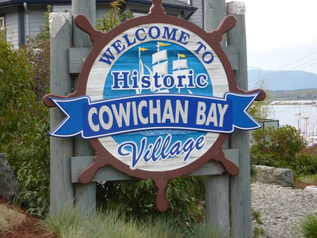 Entrance Cowichan Bay Village