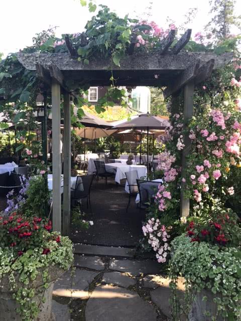 Deep Cove Chalet Restaurant Patio