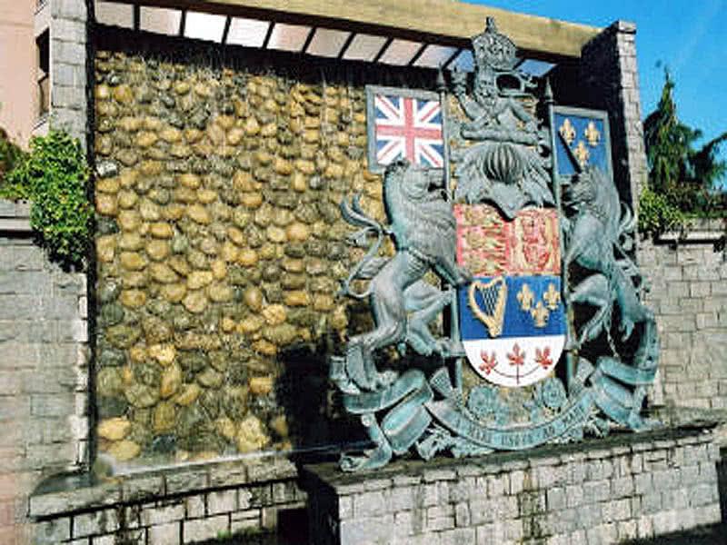 British Columbia Provincial Crest & Fountain Victoria