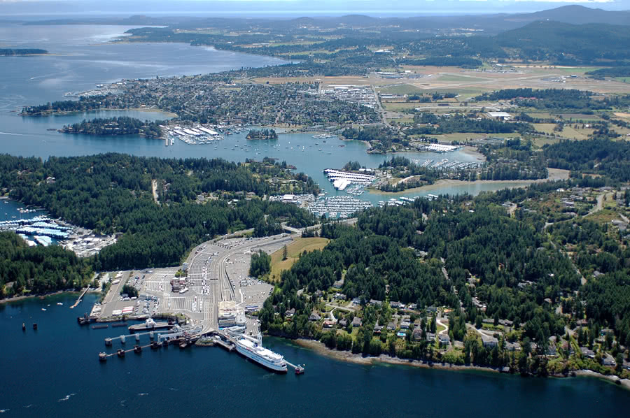 Aerial Ferry Terminal, Marina's, Sidney