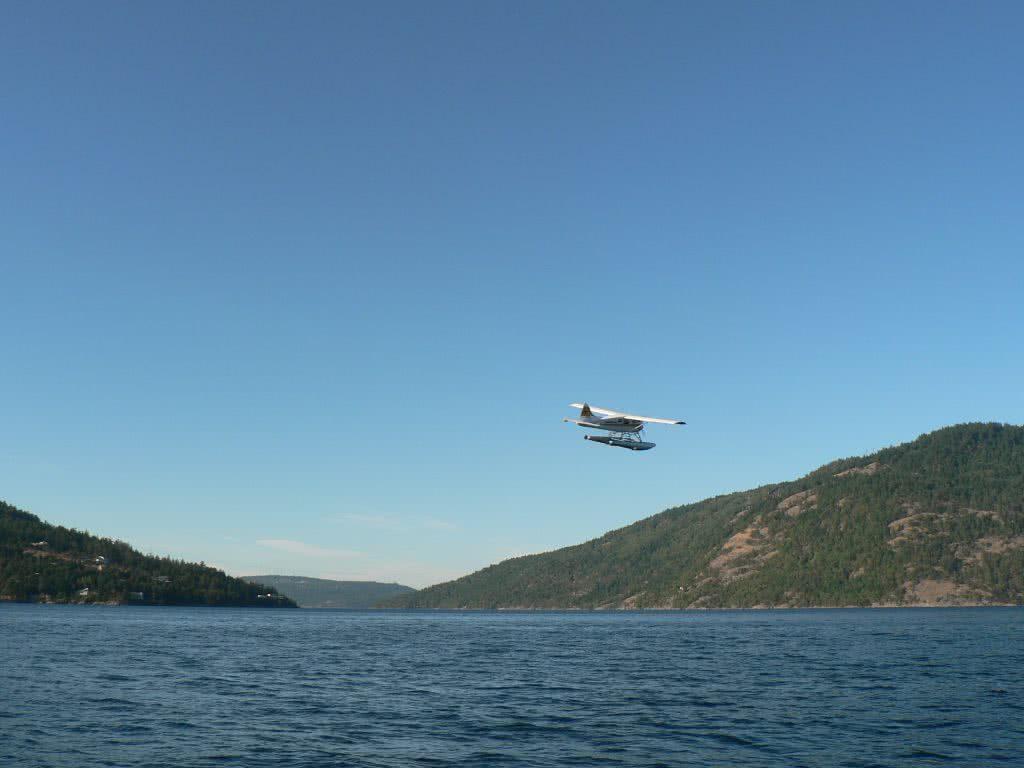 Seaplane Leaving Maple Bay