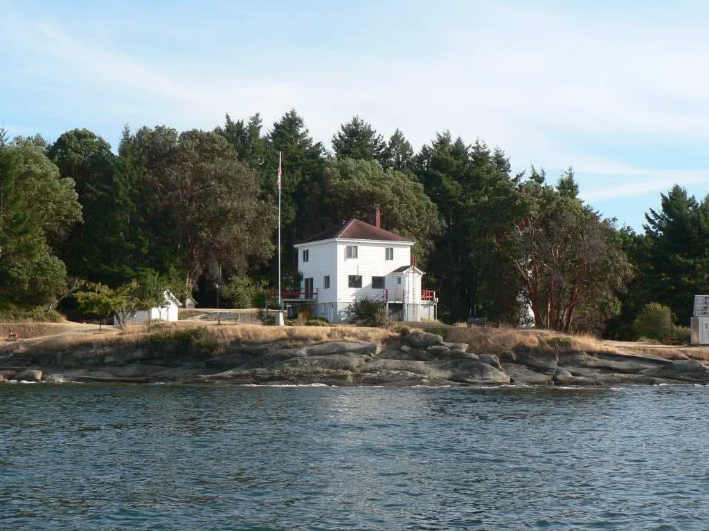 Historic Lighthouse On Mayne Island