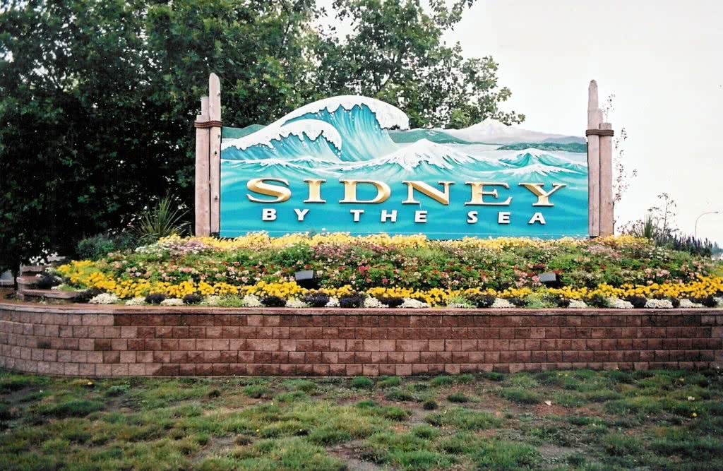 Entrance To Sidney By The Sea