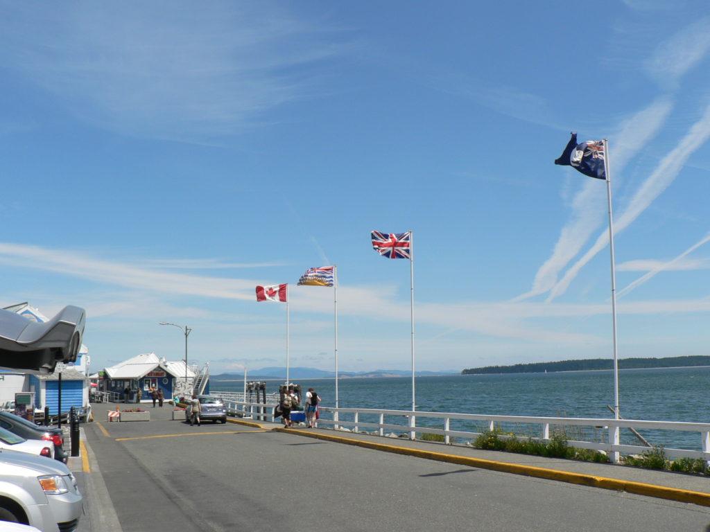 Sidney Wharf Flags