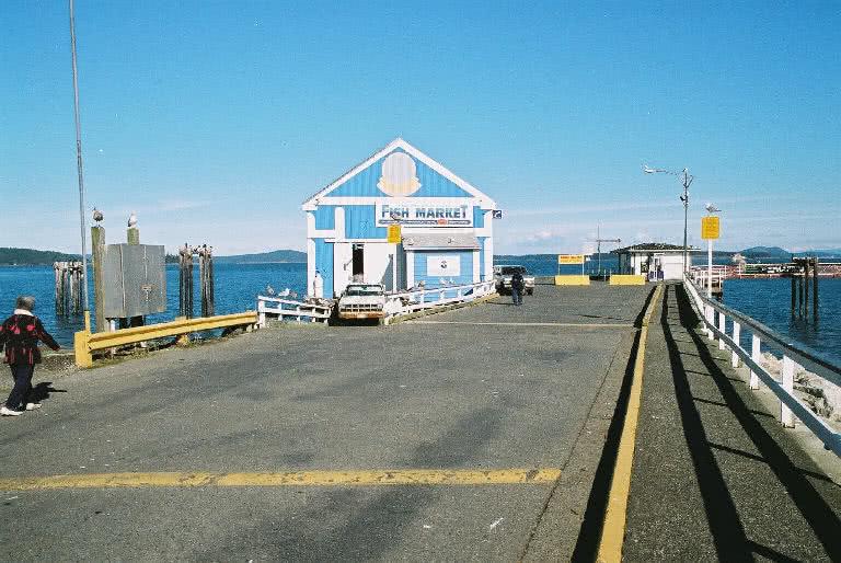 Sidney Wharf-Satellite Fish Co.
