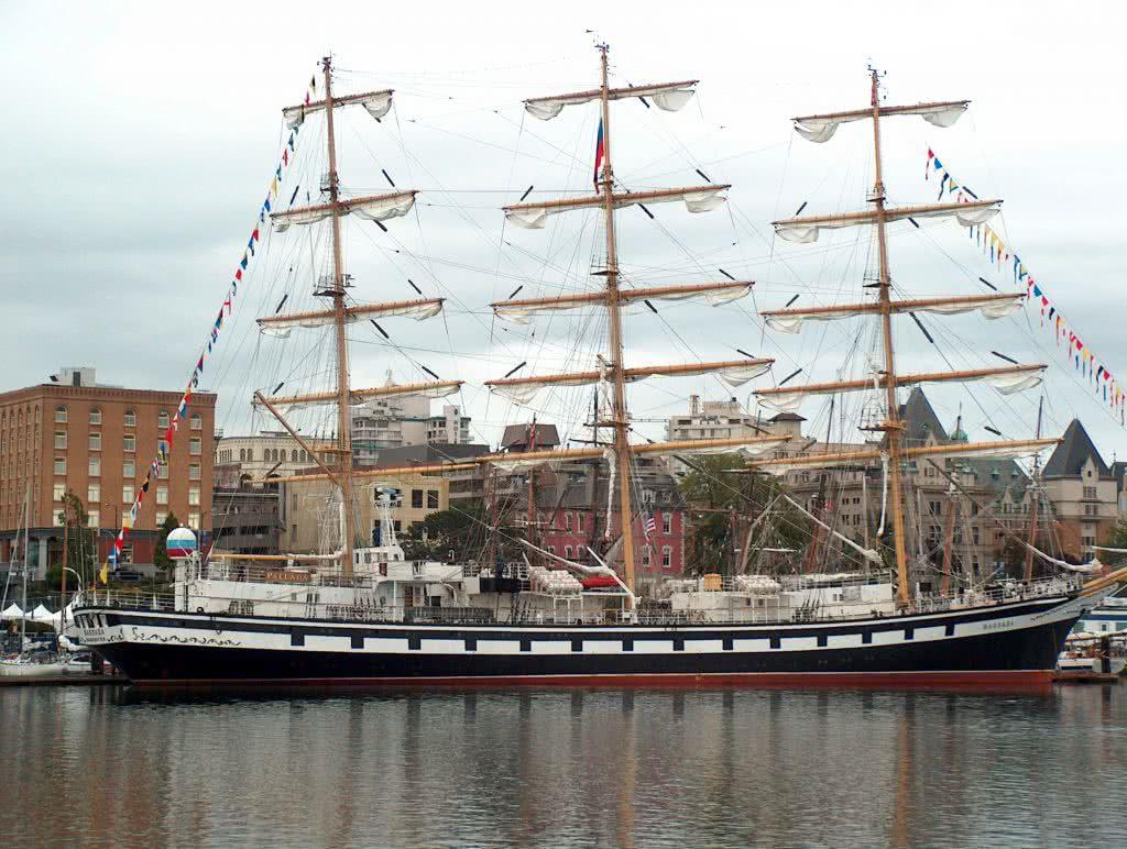 Tall Ship Visiting Victoria B.C.