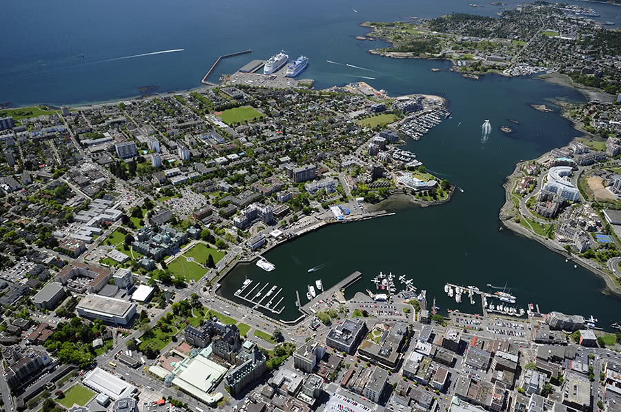 City of Victoria Harbour Aerial View