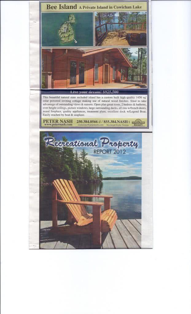 Bee Island Ad Western Investor 2012