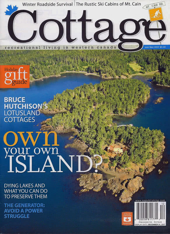 Cottage Magazine-Wolf Island