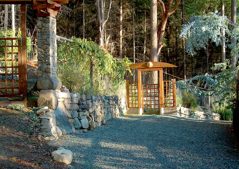 Garden Gate @ Porlier Pass Rd WF Estate Galiano Island