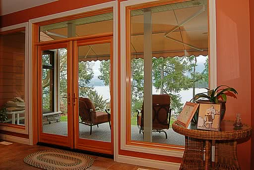 Doors Oceanfront Home In Ladysmith