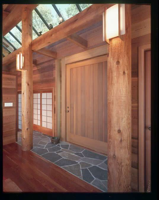 Gulf Island Front Door Designed By Bule Sky