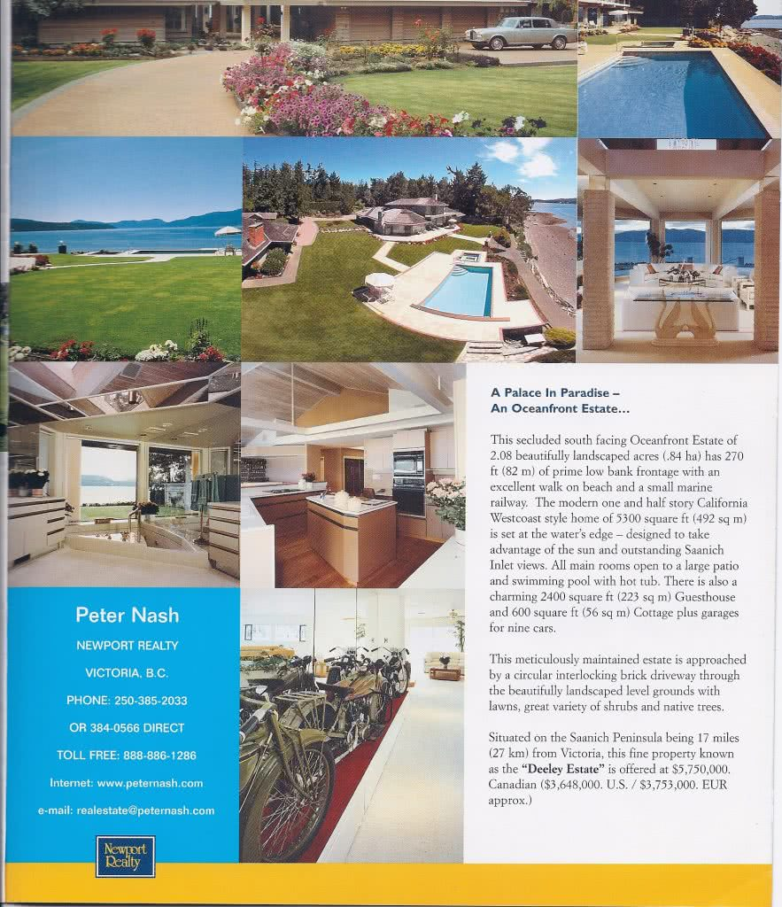 The Deeley Oceanfront Estate