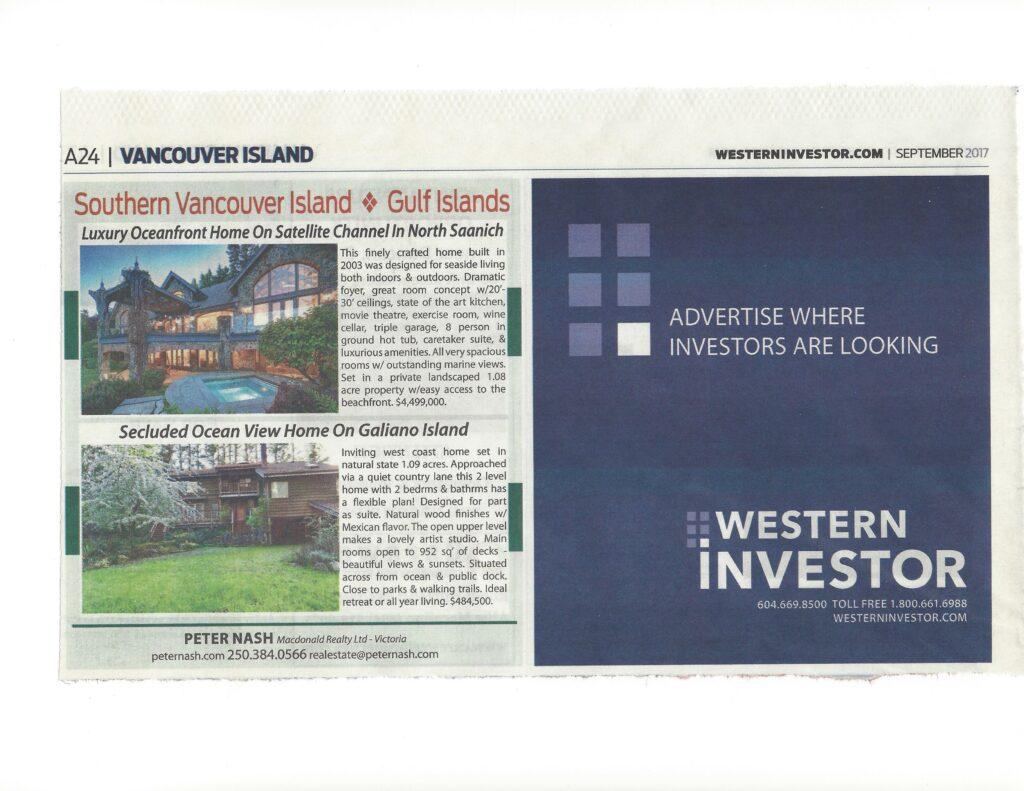 Western Investor Paper