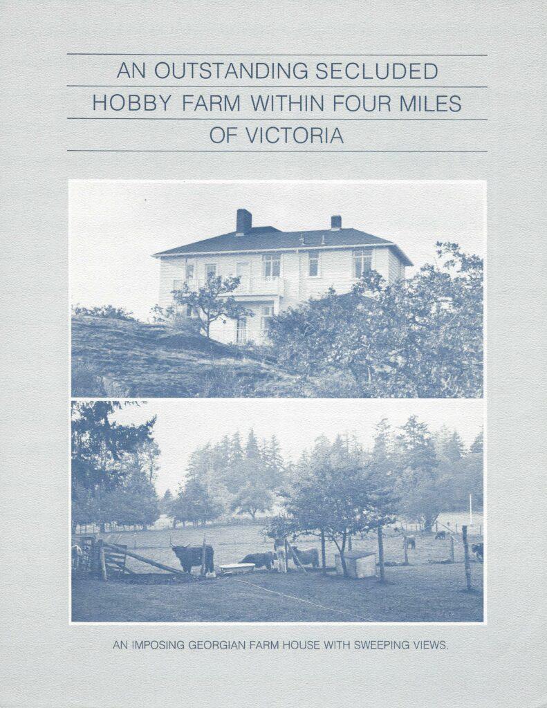 Knockan Hill Hobby Farm, Saanich