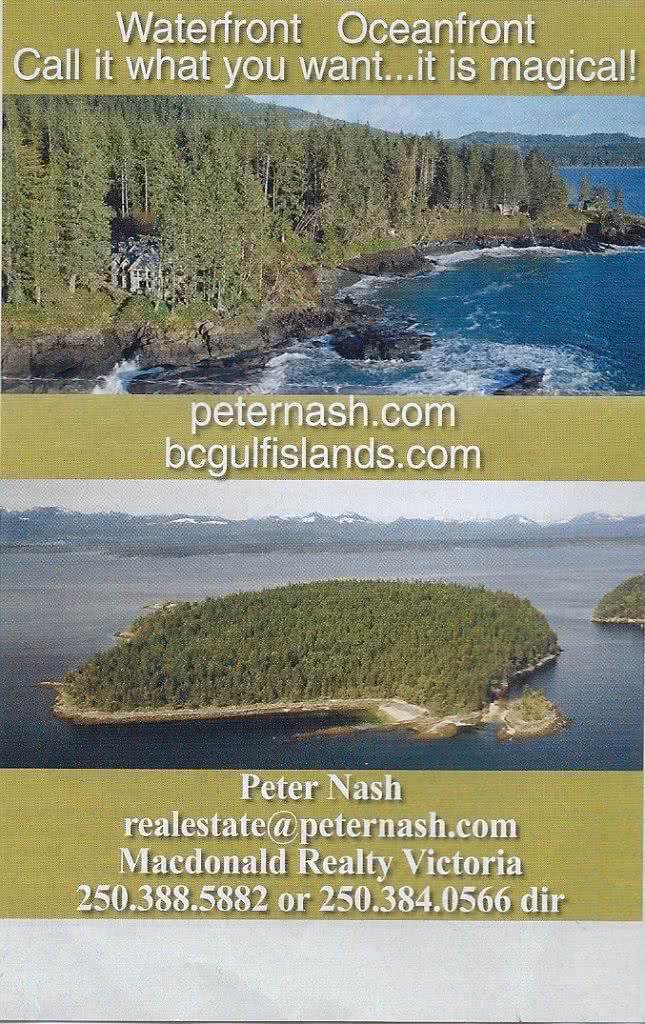peternash. com bcgulfislands.com