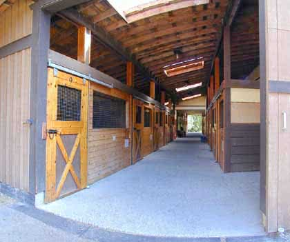 Stables at Elk Lake