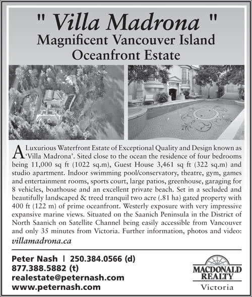 Two North Saanich Estates