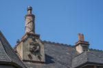 Chimney Detail & Slate Roof@ Chateau de Lis, No. Saanich