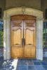 Impressive Oak Entrance Doors-Chateau de Lis