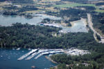 Aerial Of North Saanich Marina's