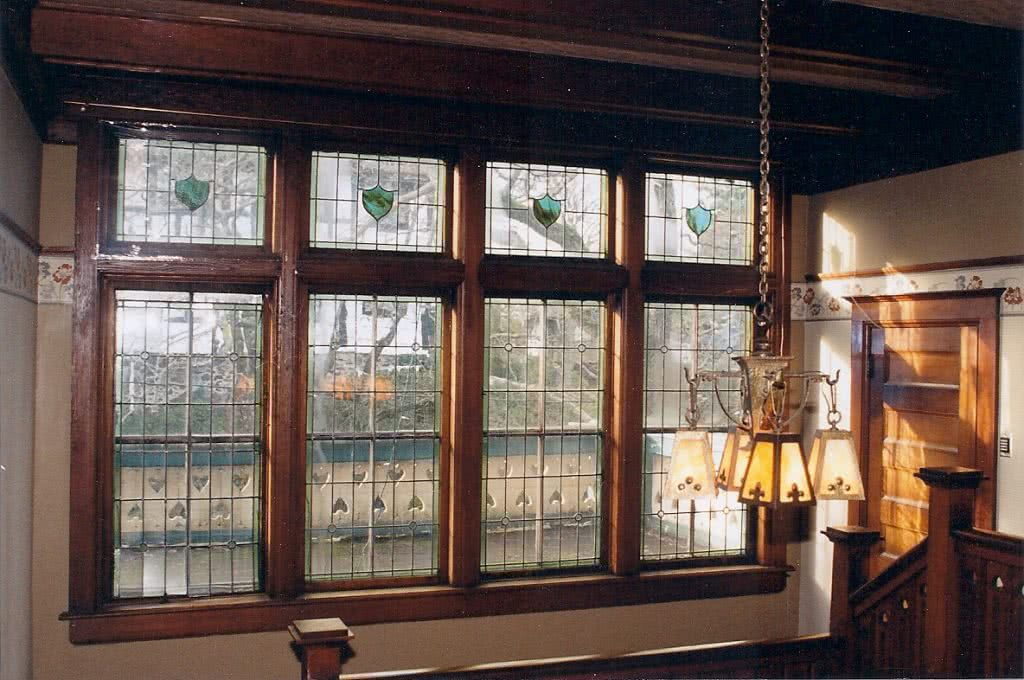 Terrace Ave., Rockland Area Character Home Stained Glass Windows