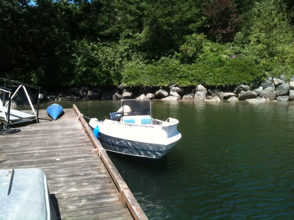 Deep Cove Dock @ 11046 Chalet Rd