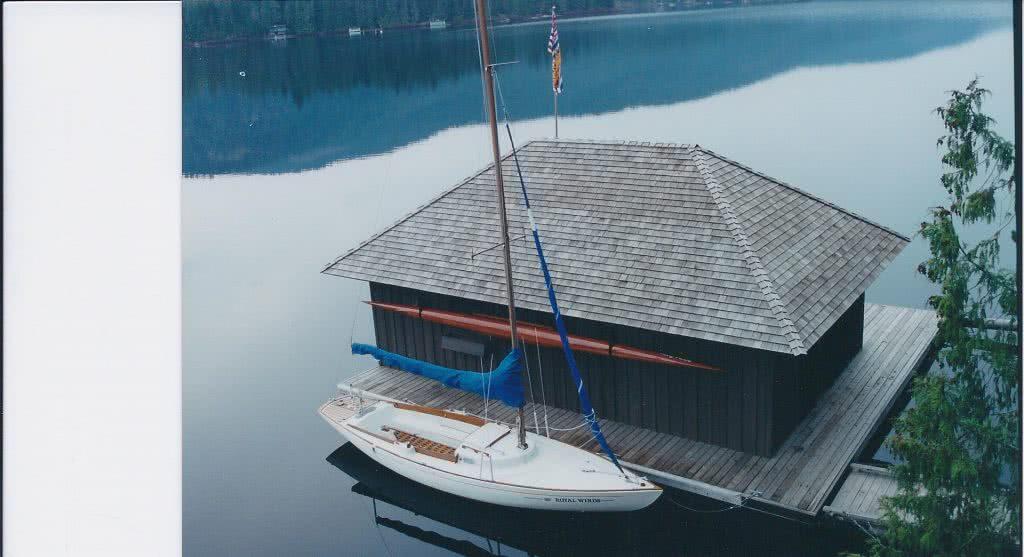 Shawnigan Lake Boathouse 2000